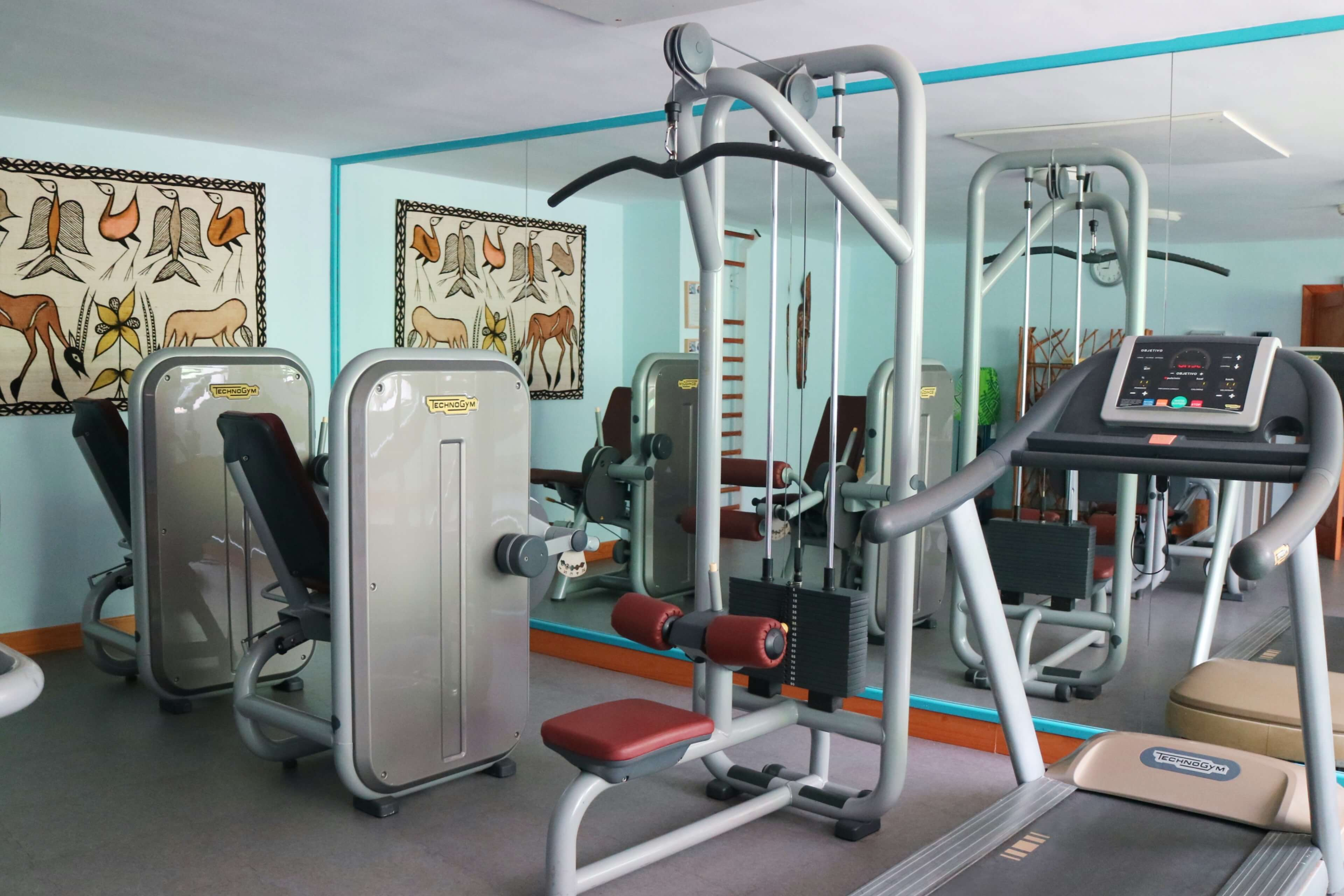 Fitness area in Sandy Beach